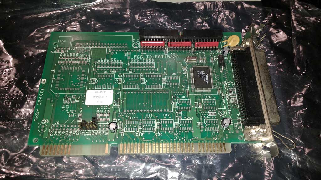 New Amiga 1200 Black Gold Plated Motherboard PCB Re-Amiga v1.2 #659